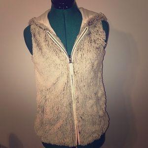 Altar'd State faux fur vest